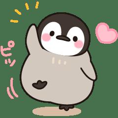 Lineスタンプほのぼの子ペンギン 40種類 120円