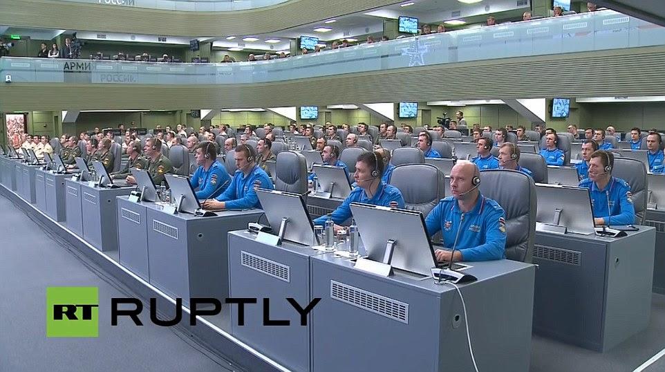 Hình ảnh Bên trong Căn phòng chiến tranh hàng trăm tỷ USD của Nga số 7
