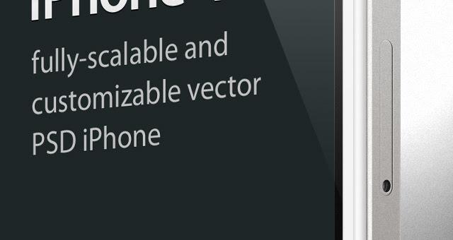 iPhone 4s Psd Vector Mockup Template | Psd Mock Up Templates | Pixeden