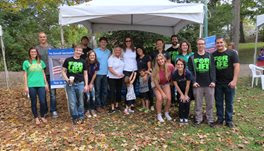 NVIC Volunteers and Booth