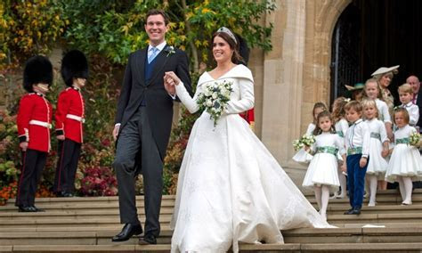 Two key people are missing from Princess Eugenie's royal