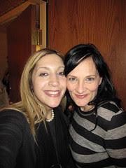 Glitter Lounge: Me  and Christine!nh