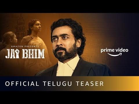 Jai Bhim Official Teaser (Telugu)   Suriya   New Tamil Movie 2021