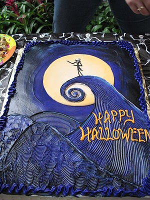 Happy Halloween cake.