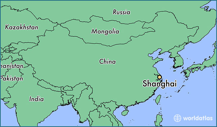 Where Is Shanghai China Shanghai Shanghai Map