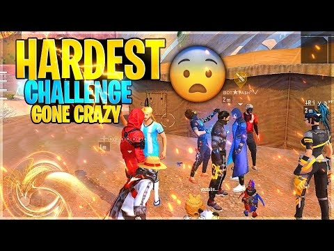 Clash Squad Funniest Challenge With Random Player😂 - Garena Free Fire