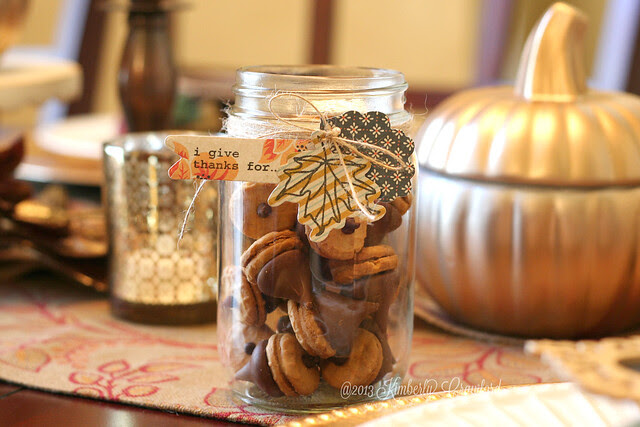 thankful acorn jar with Technique Tuesday by Kimberly Crawford