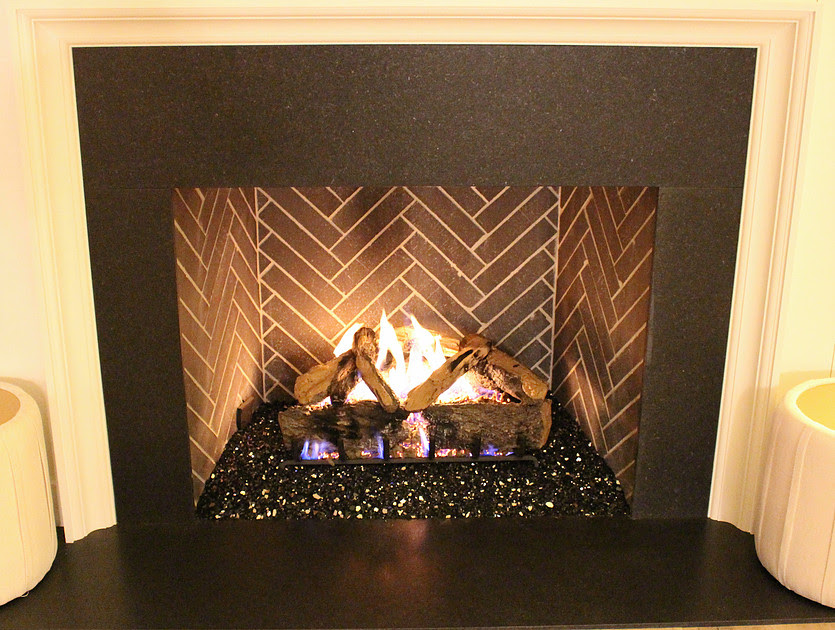 Lava Rock For Gas Fireplace Decorating Interior Of Your House