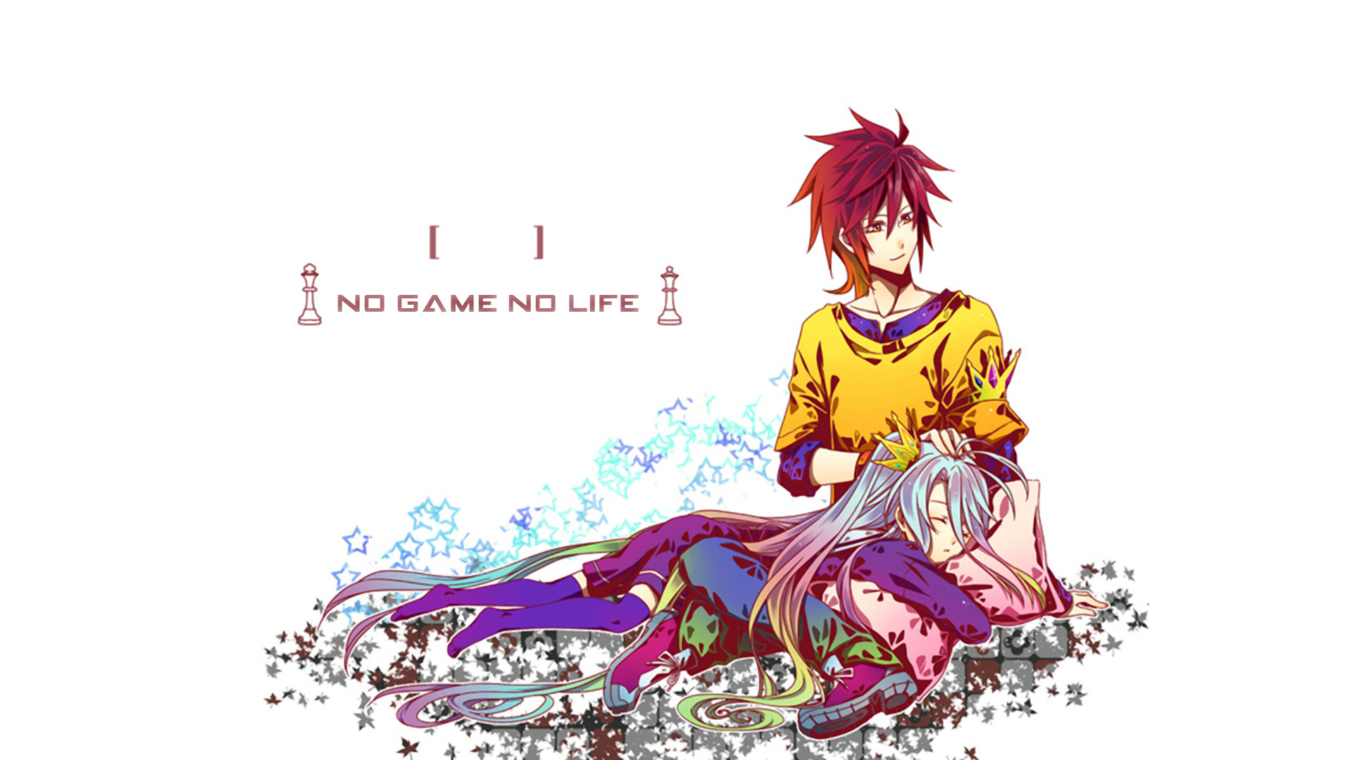 Shiro And Sora No Game No Life Anime Fondo De Pantalla