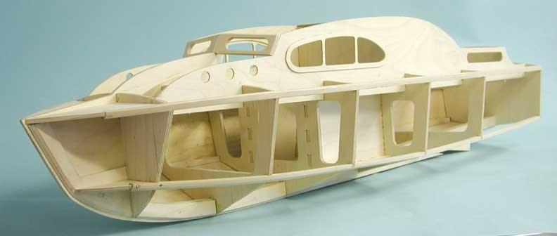 PR Boat: Aerokits model boat plans