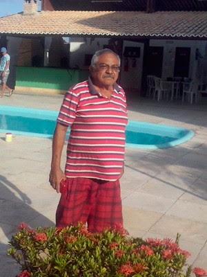 Família informa que Edilson Bezerra Sales, de 70 anos, sumiu na sexta-feira em Parnamirim (Foto: Arquivo pessoal)
