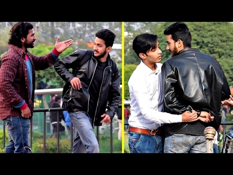 Showing Middle Finger Prank �� (Part 2) | AVRprankTV | Pranks In India