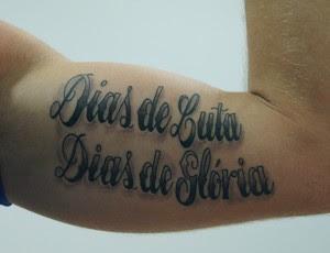 Dias De Luta Dias De Glória Tatuagem De Alison Inspira Vitória