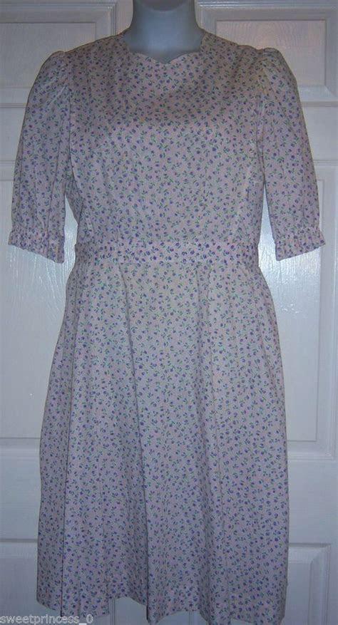 "Amish Mennonite Womens Handmade Modest Cape Dress 46""B /46"
