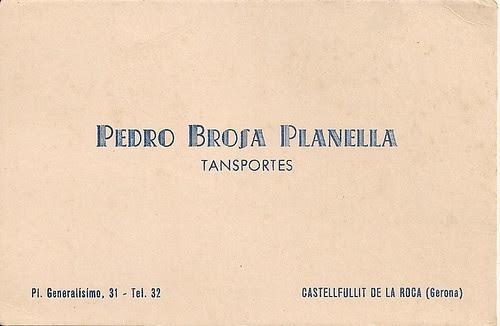 Col·lecció família Brosa - Sant Julià de Ramis.
