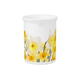 Beautiful Daffodils Pitcher