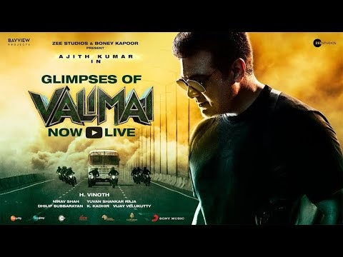 Valimai Movie: Thala Ajith Starrer Action Thriller's Glimpse Review & Records