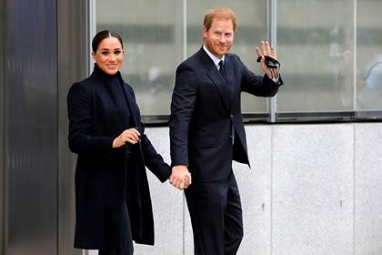 Принц Гарри и Меган Маркл провели встречу в ООН