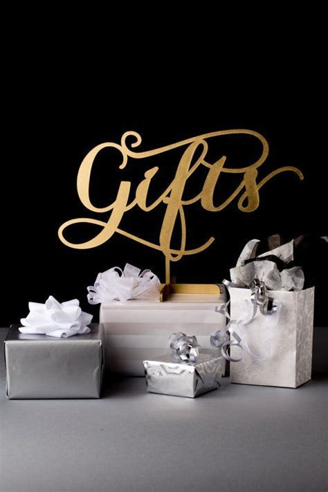 Best 25  Gift table signs ideas on Pinterest