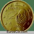 Moneda de 50 centimos de España (1a edicion)