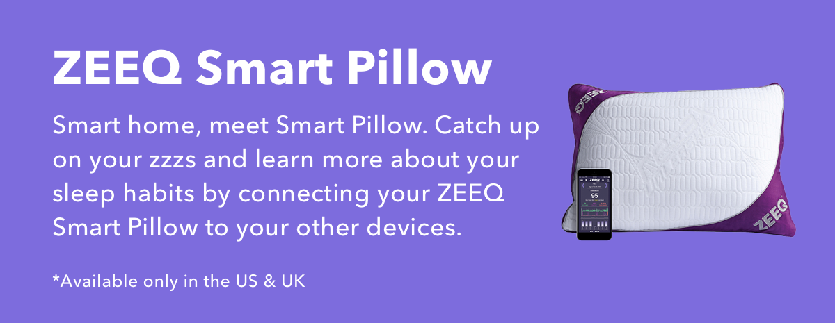 ZEEQ Smart Pillow by REM-Fit