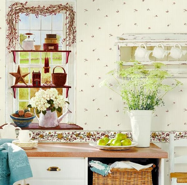 Smart Ideas to Select Wallpapers for the Kitchen