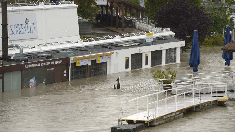 Las lluvias inundan Centroeuropa y mantienen en alerta a Austria, Alemania y República Checa
