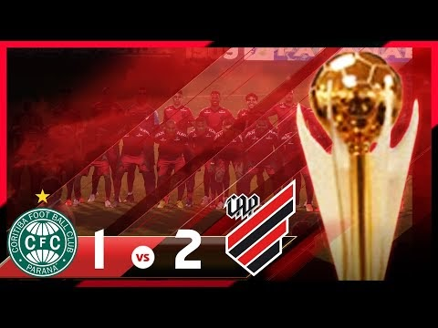 Coritiba 1x2 Athletico Paranaense FURACÃO TRICAMPEÃO!