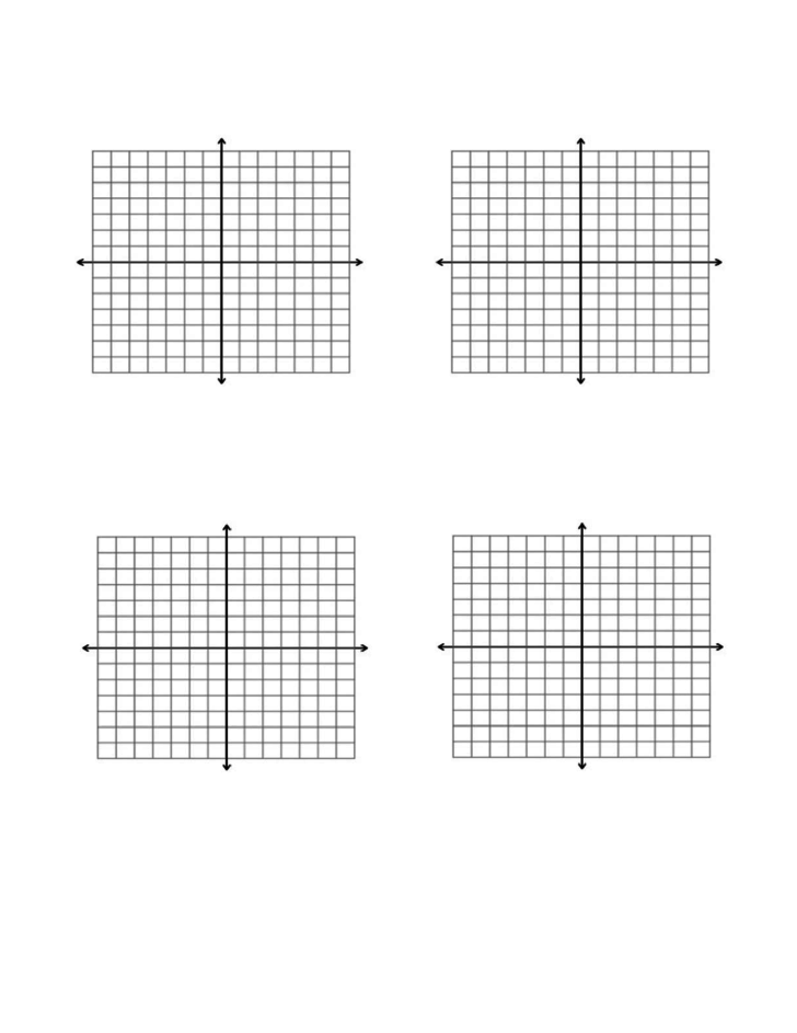 14x14 axes graph paper template l1