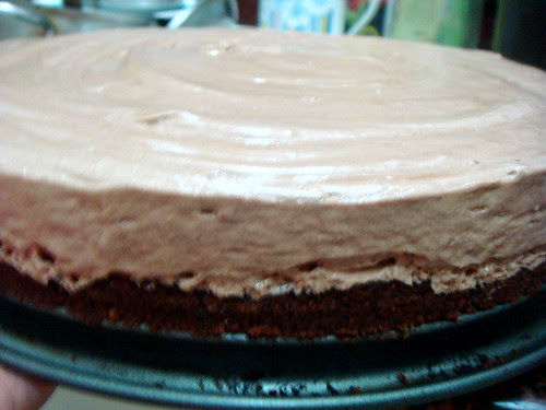 Choc Hazel Mousse Cake