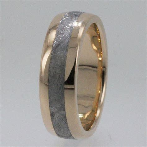 Meteorite Rings / 14K Gold Meteorite Ring   For Our