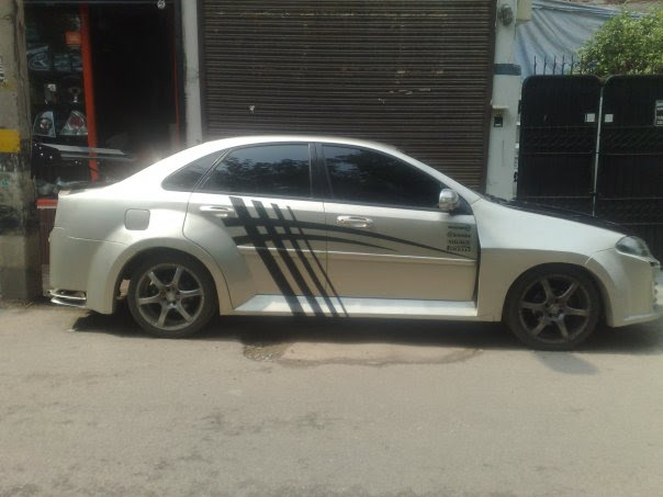 Chevrolet Optra Modified