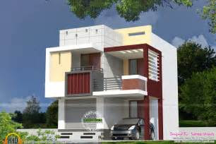 small double storied house house elevation indian