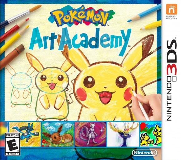 Pok\u00e9mon Art Academy Review  3DS  Nintendo Life
