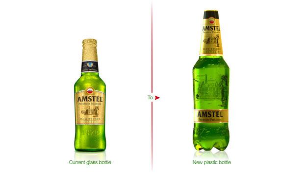 02 AmstelPremiumPilsener PET Vidrio parece pero no lo es: Amstel Premium Pilsener