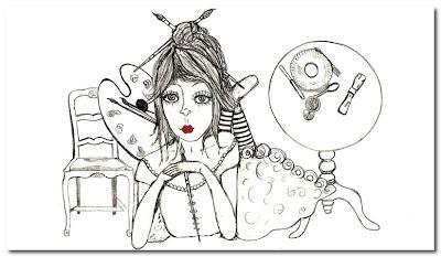 artworki by Vanessa Valencia a fanciful twist