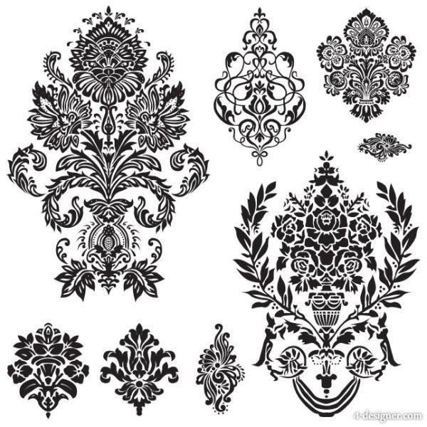 Free Design Black And White Pattern Border Download Free Clip Art