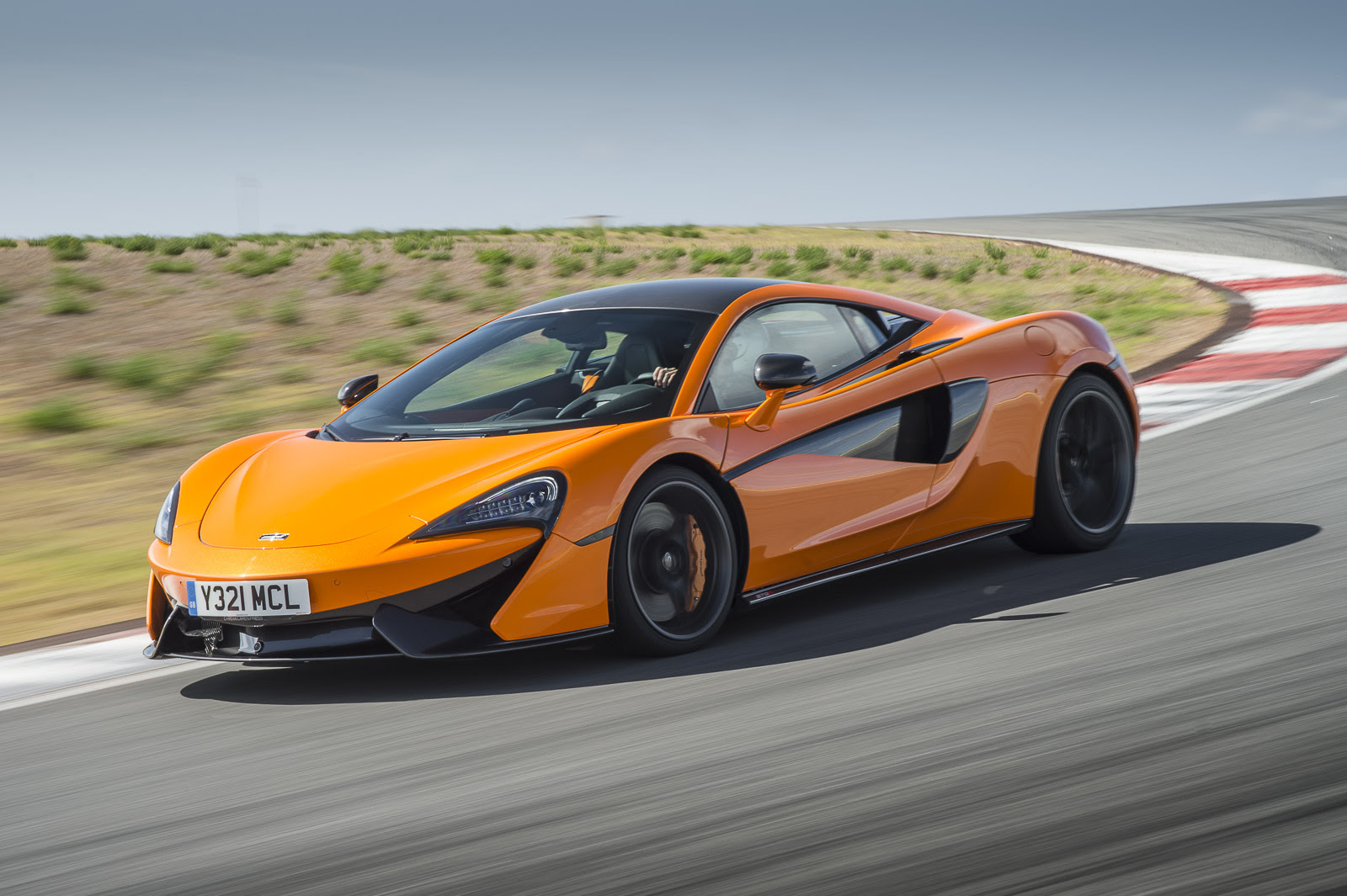mclaren 570s coupe first model in the new sports series