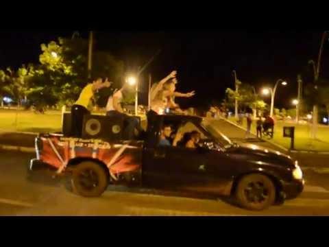 Carreata da vitória de Bolsonaro neste domingo em Roncador