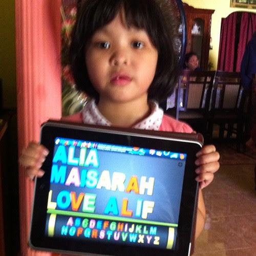 Alia Maisarah Love Alif