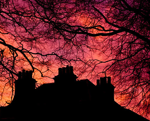 cupar sunset-1087453 by E.........'s Diary