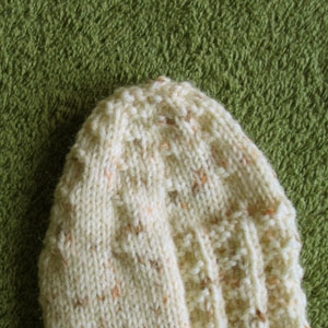 Fluted Banisters sock toe