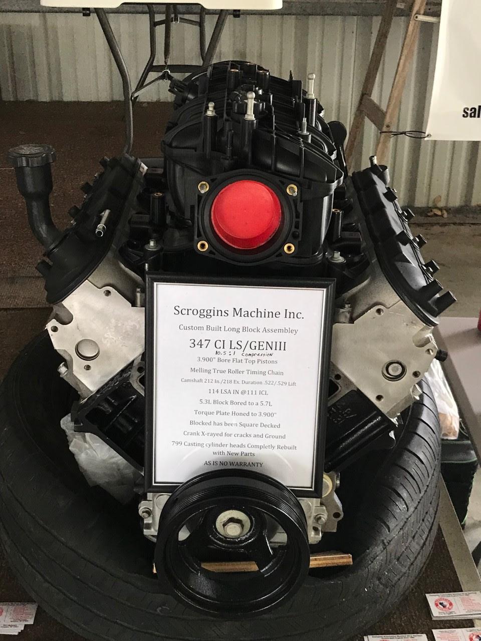 Scroggins Machine Engine Rebuilds Installation
