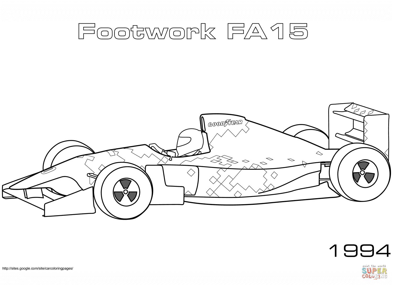 1994 Footwork FA 15