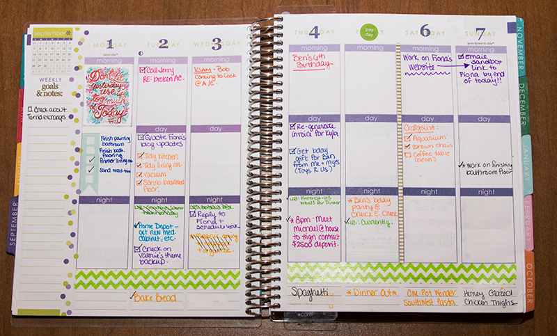 Choosing A Planner....So Many Options! - Living Above the Noise