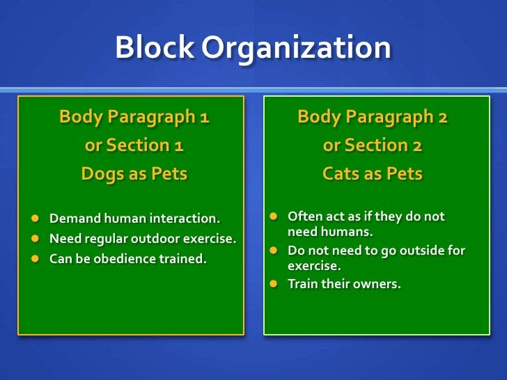 writing a compare and contrast essay dogs vs cats