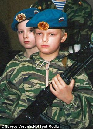 Formed during the Soviet era, the club offers one program provided in The Young Paratrooper course which includes several military-technical disciplines