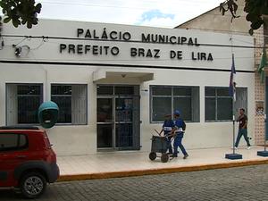 Prefeitura de Santa Cruz do Capibaribe, Pernambuco (Foto: Reprodução/ TV Asa Branca)