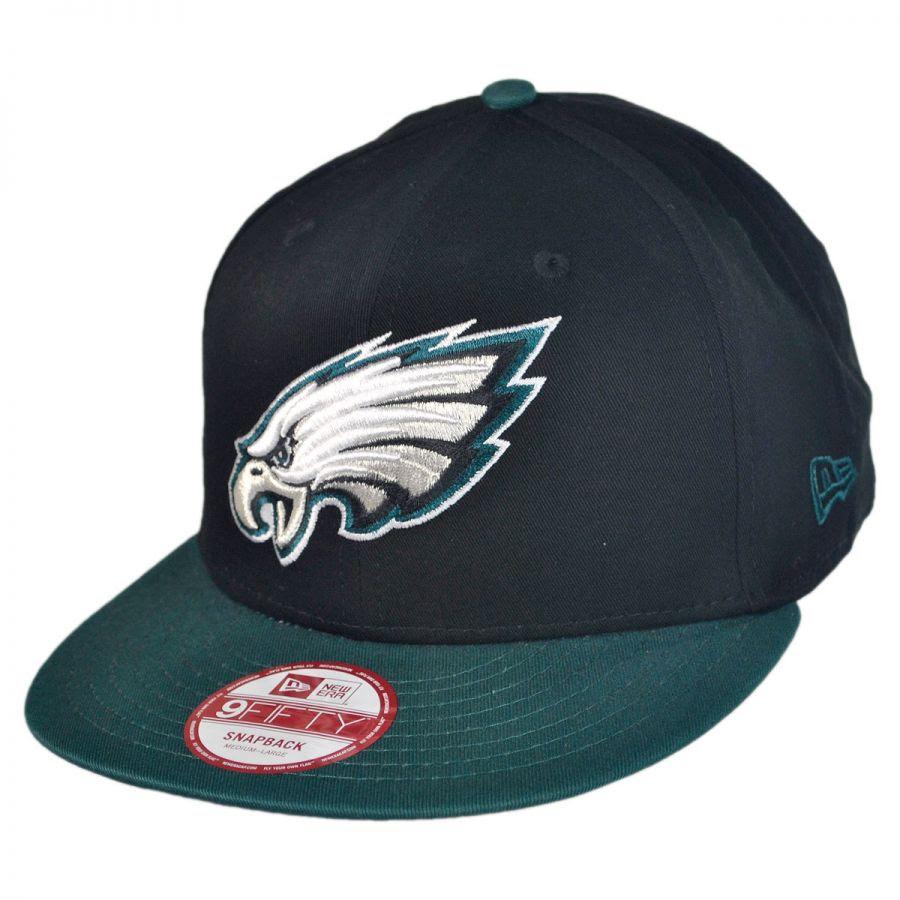New Era Philadelphia Eagles NFL 9Fifty Snapback Baseball Cap NFL Football Caps