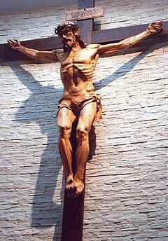 Cristo crucificado Rafael Pi Belda